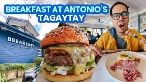 BREAKFAST AT ANTONIO'S TAGAYTAY: New Normal Travel Guide & Menu 2021