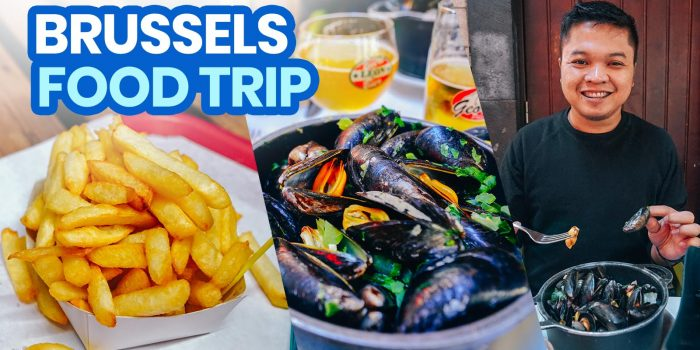 10 Street Foods to Try in BRUSSELS, BELGIUM