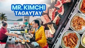 MR. KIMCHI TAGAYTAY: New Normal Guide & Menu 2021