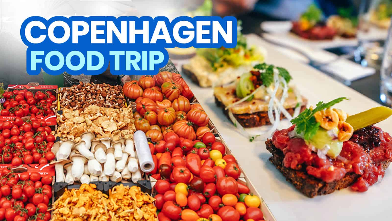 COPENHAGEN FOOD TOUR: 12 Dishes, Drinks & Restaurants to Try in the City