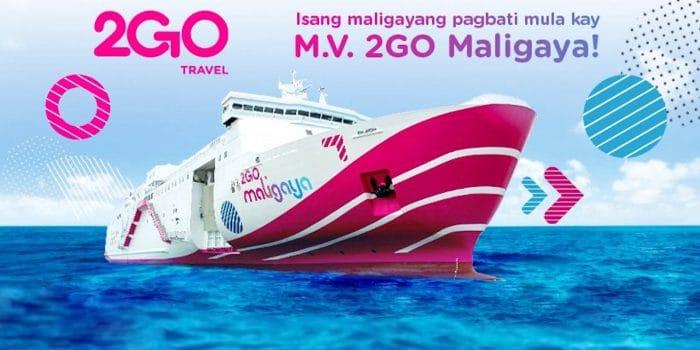 2Go Launches New Vessel: MV 2GO MALIGAYA
