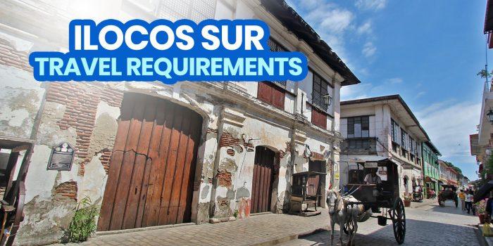 2021 ILOCOS SUR Travel Requirements for Tourists
