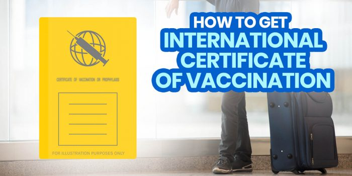 INTERNATIONAL CERTIFICATE OF VACCINATION (ICV): BOQ Philippines Requirements + How to Expedite